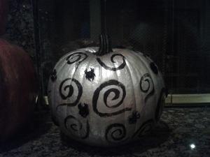 silver pumpkin 2014