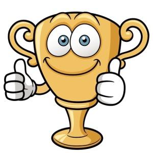 I gave myself a trophy!