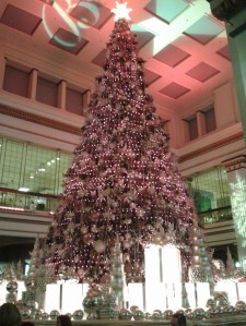 Macy's Christmas Tree in the Walnut Room