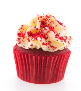 red velvet cupake