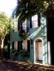 I fell in love with the houses of Charleston!