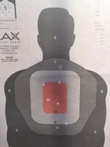 My target practice